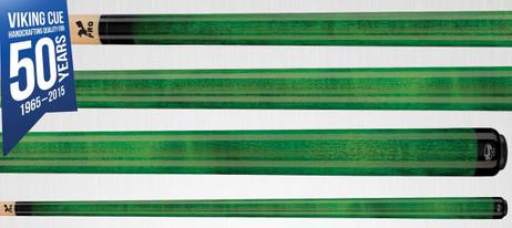 Viking Cues A205 Emerald Stain Pool Billard Queue, Billardqueue Made in USA