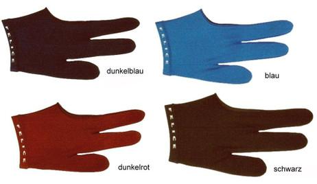 Felice Billardhandschuh, für Rechts- und Linkshänder