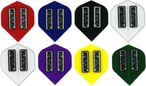 Pentathlon Standard transparent Dart Flights, 3er Set