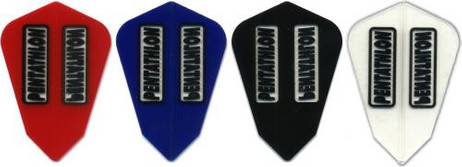 Pentathlon Latern transparent Dart Flights, 3er Set
