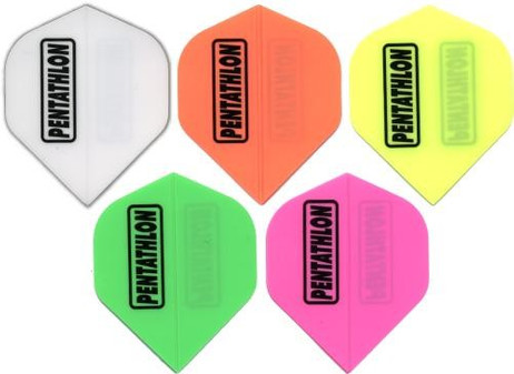 Pentathlon SOLID Standard Dart Flights, 3er Set