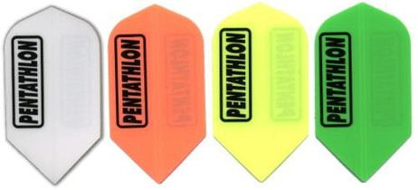 Pentathlon SOLID Slim Dart Flights, 3er Set
