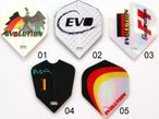 EVOLUTION Flight, 3er Set EVO Dart Flights