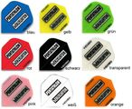 Pentathlon Flights HD 150 Standard transparent dart flights, 3 piece set