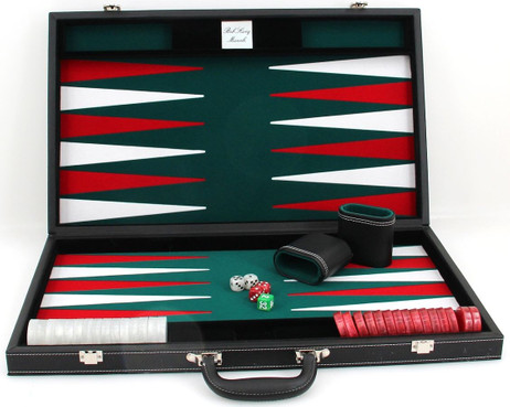 gro er backgammon turnier koffer edle ausf hrung mit gravur geschenk idee klassische spiele. Black Bedroom Furniture Sets. Home Design Ideas