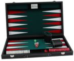 Backgammon case medium, noble execution with engraving, the gift idea