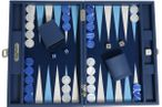 Backgammon BUFFALO B20L Nuit Medium, Alcantara Spielfeld, Hector Saxe, Paris Bild 1
