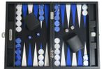 Backgammon BUFFALO B20L Anthracite Medium, Alcantara, Hector Saxe, Paris
