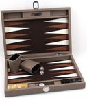Backgammon BUFFALO B20L Terre Medium Alcantara Hector Saxe Paris incl. Engraving Image 3