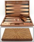 Backgammon Mykonos XL 1127 from Philos with magnetic lock and inlaid work Image 1