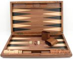 Backgammon Mykonos XL 1127 from Philos with magnetic lock, engraved item