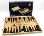 Backgammon Kassette aus Holz, 33 x 21 x 4 cm