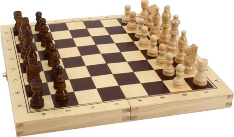 Schach - Backgammon Kassette Standard