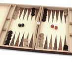 Schach - Backgammon - Dame 10x10 Kassette mit Intarsien mit Gravur Geschenk Idee Bild 4