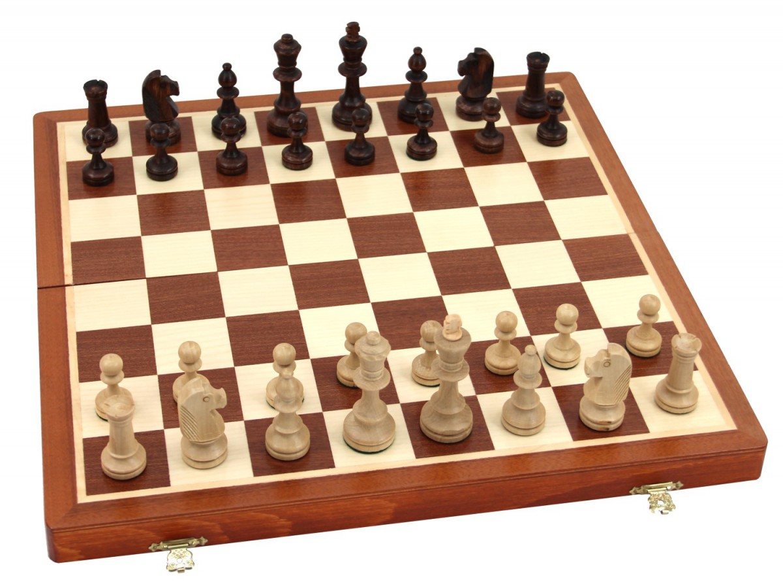 High-quality Tournament chess Set massiv wood 40 x 40 ...