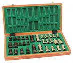 High-quality Tournament chess Set massiv wood 40 x 40 Image 4