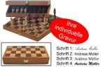 Engraved Chess Case, idea for gift Image 1