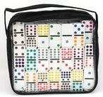 Domino Double 18, Doppel 18 - Domino mit Tasche