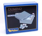 Domino Doppel 15, Double  15 - Domino in Blechdose Bild 2