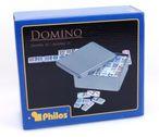 Domino Doppel 15, Double  15 - Domino in Blechdose