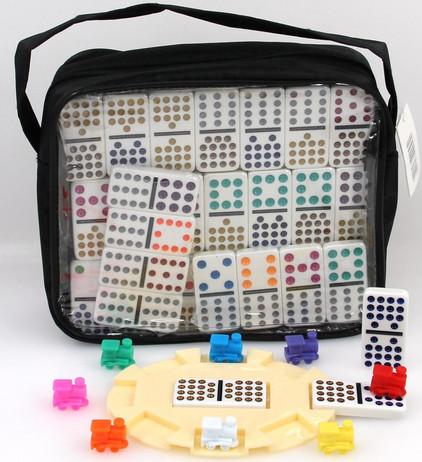 MEXICAN TRAIN 15/15 Std. Double 15 Domino game
