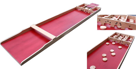 SJOELBAK S-40 Dutch Shuffleboard aus Holland