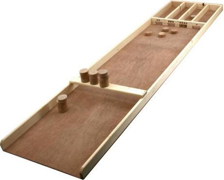 SJOELBAK Junior aus Holz - kleines Dutch Shuffleboard