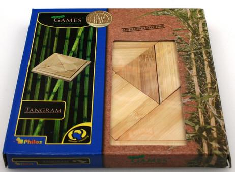TANGRAM, das spannende Kombinationsspiel aus Bambus