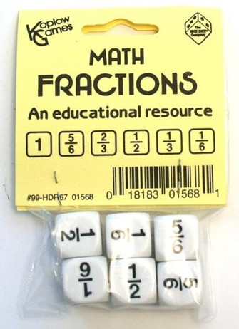Education - Math - Dice - Set, 6 math operators dice