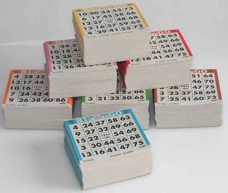 Bingo / Lotto 3500 Tickets, 1-75