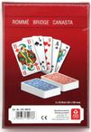 SENIOR -ROMME-BRIDGE-CANASTA, french picture, 2x52 + 6 joker