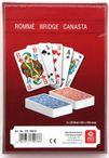 SENIOR -ROMME-BRIDGE-CANASTA, french picture, 2x52 + 6 joker
