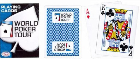 WPT World Poker Tour playing cards