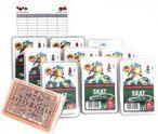 SKAT, Deutsches Bild Spielkarten Zehnerpaket von ASS im Set mit Ludomax Block