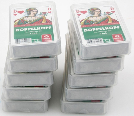 10 pieces of DOPPELKOPF Club, french picture, 2x24 cards
