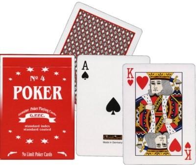 G.P.P.C. Poker Spielkarten No. 4