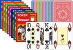 POKER von MODIANO, 100% plastic, 4 Jumbo Index, ohne Rand! 001