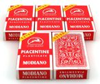 5 pieces of Piacentine playing card, SUPER by Modiano - Scopa / Briscola