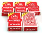 5 pieces of Napoletane playing card, SUPER by Modiano - Scopa / Briscola