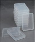 10 pcs. Plastic - case (PP) for Skat playing cards box 001