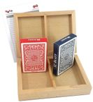 Skat Box plastic quality, cassette with pack of two 100% plastic playing cards Image 2