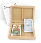 Skat Box Club, cassette with two Skat card games, Club-Standard