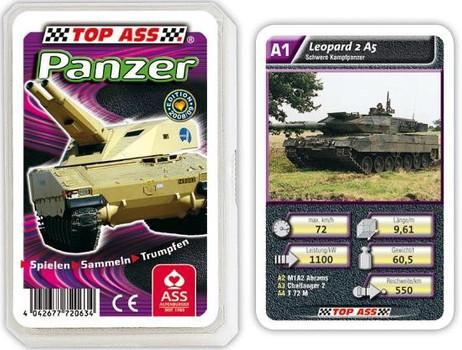 Tank Powerpacks - Deck of Cards Quartett TOP ASS 72063