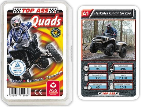 Quads - Rennsport Quartett TOP ASS 71293