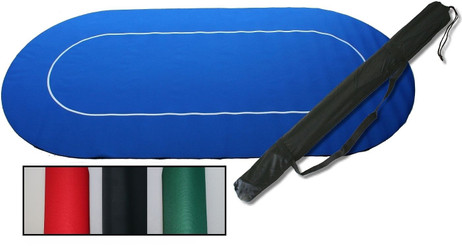POKER Layout, high quality Poker blanket, different colours with bag