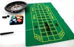 Deluxe Bakelit Roulette Set mit 30 cm Roulettekessel, Spieltuch, Rake und Chips Bild 4