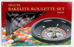 Deluxe Bakelite Roulette Set with 12 inch roulette wheel, cloth, rake, chips Image 5