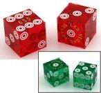Casino - Präzisionswürfel, Paar (2 Stück) mit Seriennummer