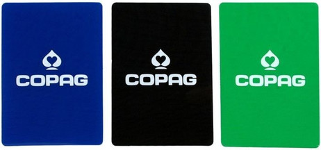 COPAG BLACK Cut - Card, poker - size, 10 piece