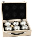 OBUT 6-SET, Leisure time Boules in the wood case